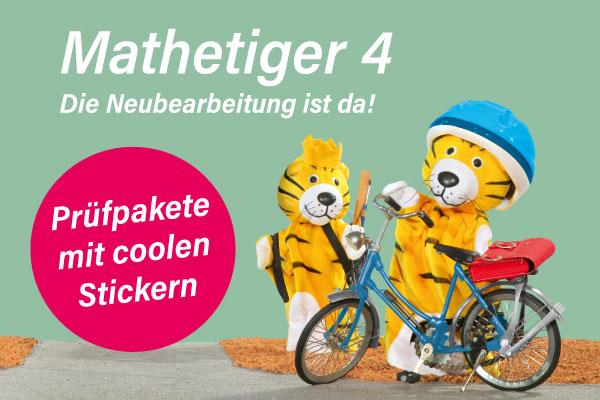 Mathetiger-Prüfpakete
