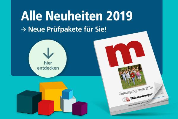 Neue Prüfpakete 2019