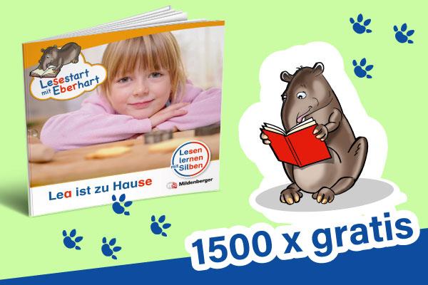 1500 Lesehefte gratis