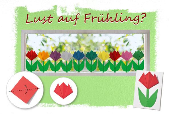 Gratis-Download: Tulpe falten
