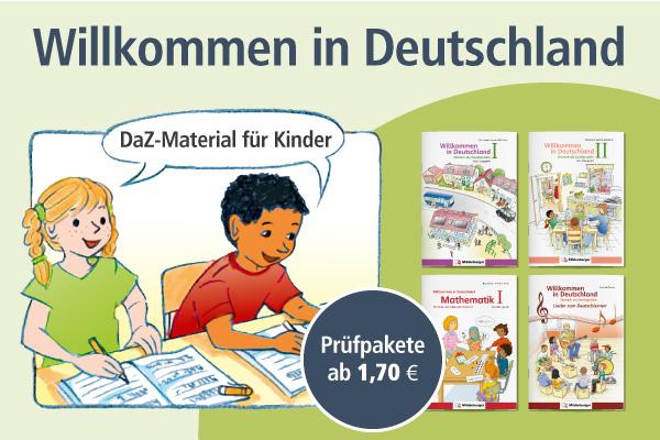 Willkommen in Deutschland: DaZ-Material