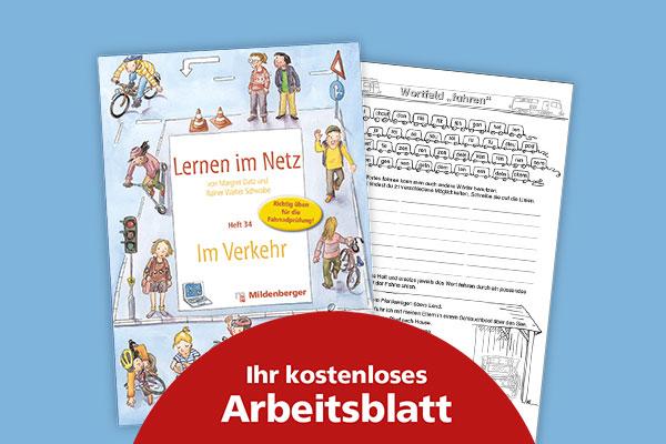 "Kostenloses Arbeitsblatt: Wortfeld ""fahren"""