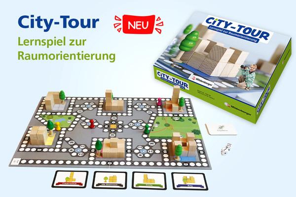 """Lernspiel """"City-Tour"""""""