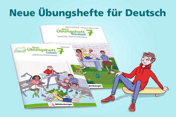Neue Übungshefte für Deutsch