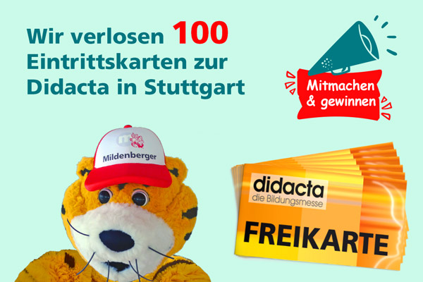 100 Freikarten Didacta