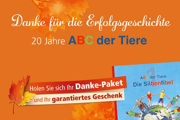 """Danke-Pakete """"ABC der Tiere"""""""