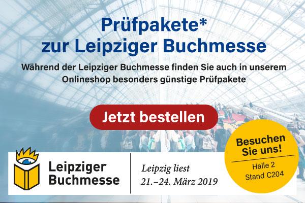Prüfpakete zur Buchmesse Leipzig