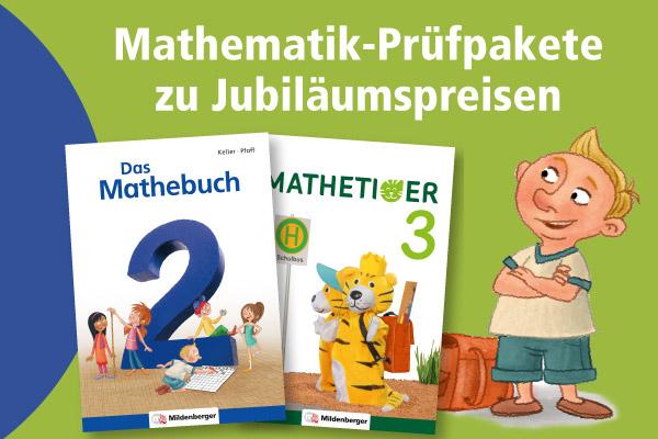 Mathematik-Prüfpakete zu Jubiläumspreisen