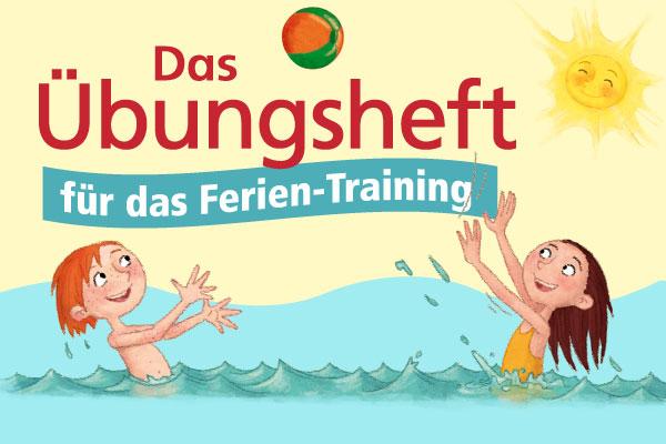 Das Übungsheft für das Ferien-Training